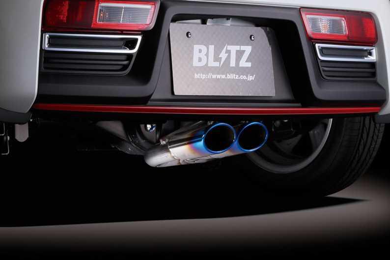 BLITZからアルトワークス用センター出しオーバルテールマフラーが新発売 -