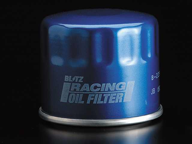 最新の日産車に対応するブリッツの高性能オイルフィルター