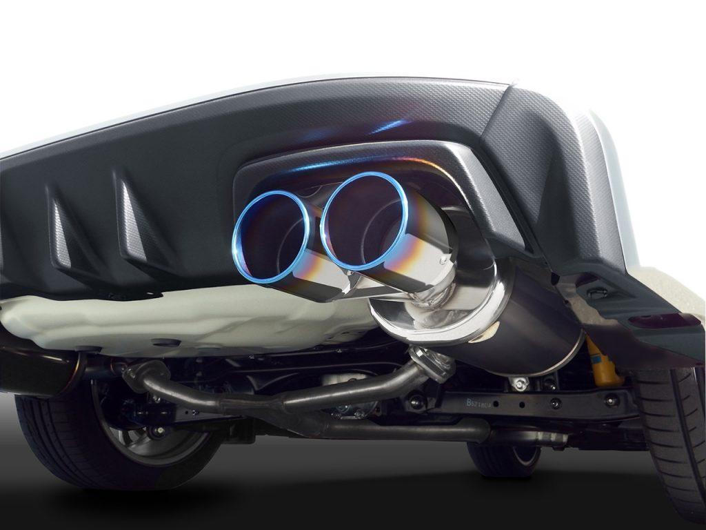 ゼロスポーツからWRX S4用チタンテールマフラーが新登場 -