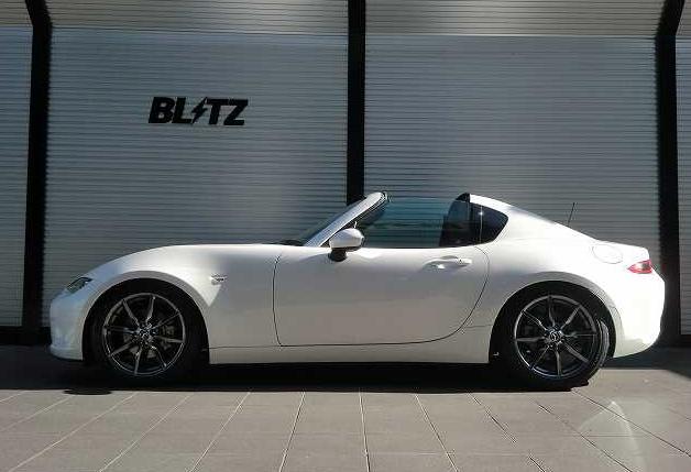 ブリッツの車高調サス『DAMPER ZZ-R』がロードスターRFに適合