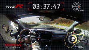 新型シビックタイプRがニュルブルクリンクでFF最速タイムのオンボード映像を公開 - 新型シビックタイプRがニュルブルクリンクで最速タイムのオンボード映像を公開