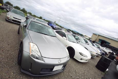GARAGE SAMURAI:スポーツ系の中古車を取り揃える