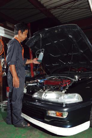Driver's Assist:話題のRECS施工でエンジンの調子を取り戻す