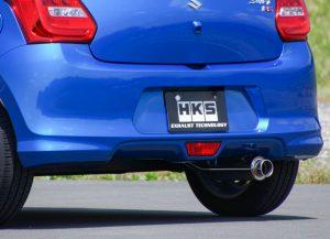 【HKS】ZC13S型SWIFT用マフラー【Silent Hi-Power】
