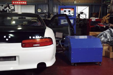 RACING SERVICE MATSUMOTO:シャシーダイナモ