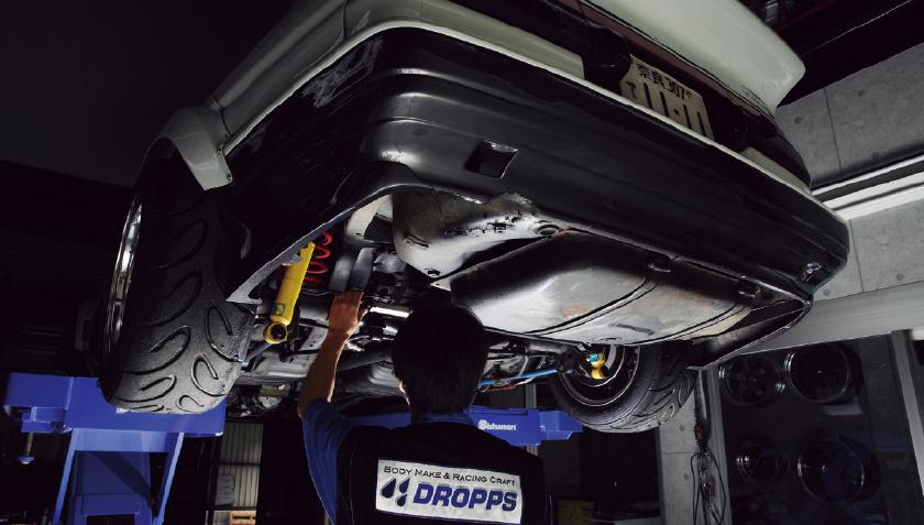 BODY FACTORY DROPPS:ドロップス『AE86』リフレッシュメニュー