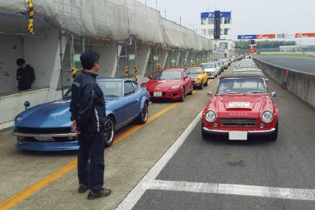 KR&TREND KASAMA RACING SERVICE:新春走行会