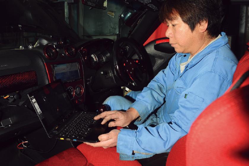 NAGASE JIDOUSHA KOUGYO:Linkフルコン 取り付けプラン