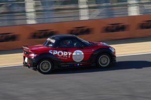 D-SPORTのコペンがTC2000で1分11秒940    〜D-SPORT RACING PROJECT〜 - IMGP6803