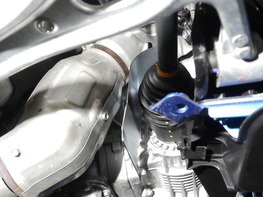 [CUSCO]フロント用ドライブシャフト遮熱板(VAB/GRB/GVB/GDB E型~)