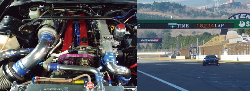 FSWを1分55秒586で駆け抜けるサーキット仕様のJZX100を製作