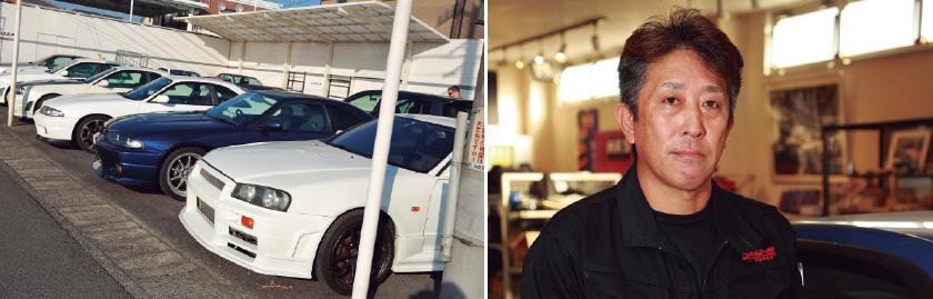 GT-Rを扱って18年超の経験を持つベルザの代表・狩野将秀さん
