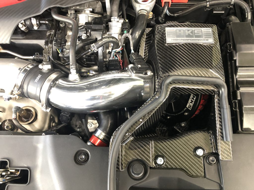 HKS【COLD AIR INTAKE&RACING SUCTION KIT(FK8)】