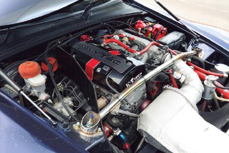 憧れのK-TECエンジンで爽快な吹け上がりを実現