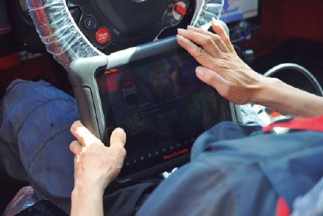 万能故障診断機AUTELを導入し、輸入車に対応