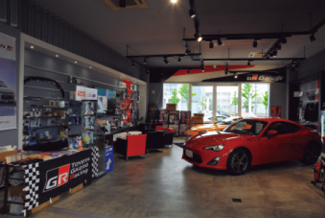 GR Garage Sapporo Atsubetsudori