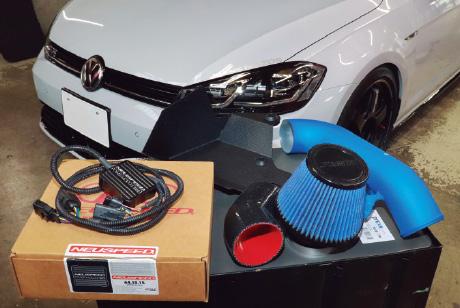 >VW&AudiのマストアイテムがそろうNEUSPEEDオプティカンディーラー