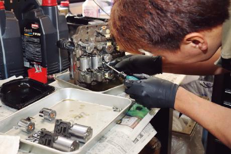 メカトロ、クラッチパックなどDSG、S-Tronicの修理も対応!