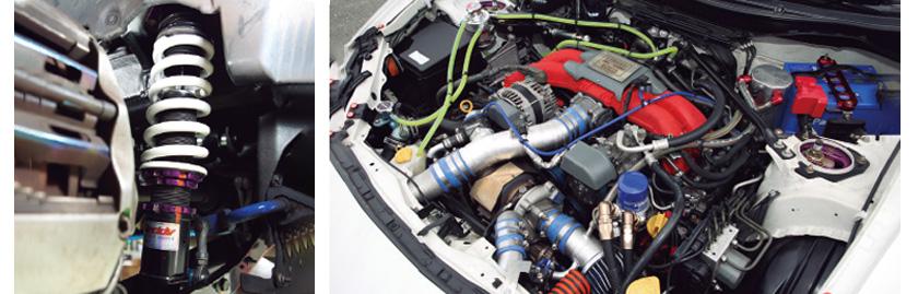 タイヤ、足、エンジン制御 総合力で結果を出す!