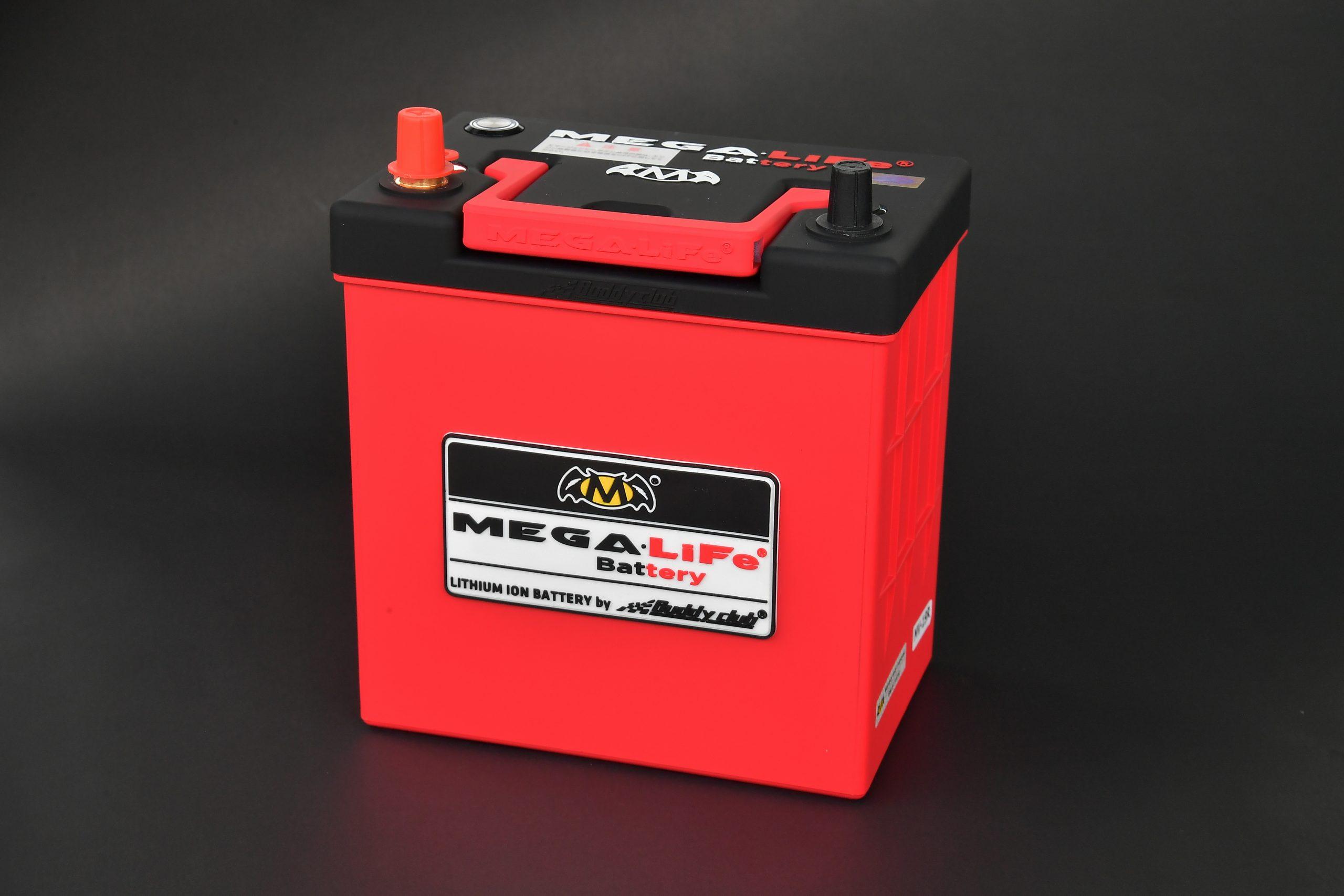 高い安全性のリチウムフェライトを採用!軽量化とロングライフは大きな恩恵『MEGA.LiFe Battery MV-19R』
