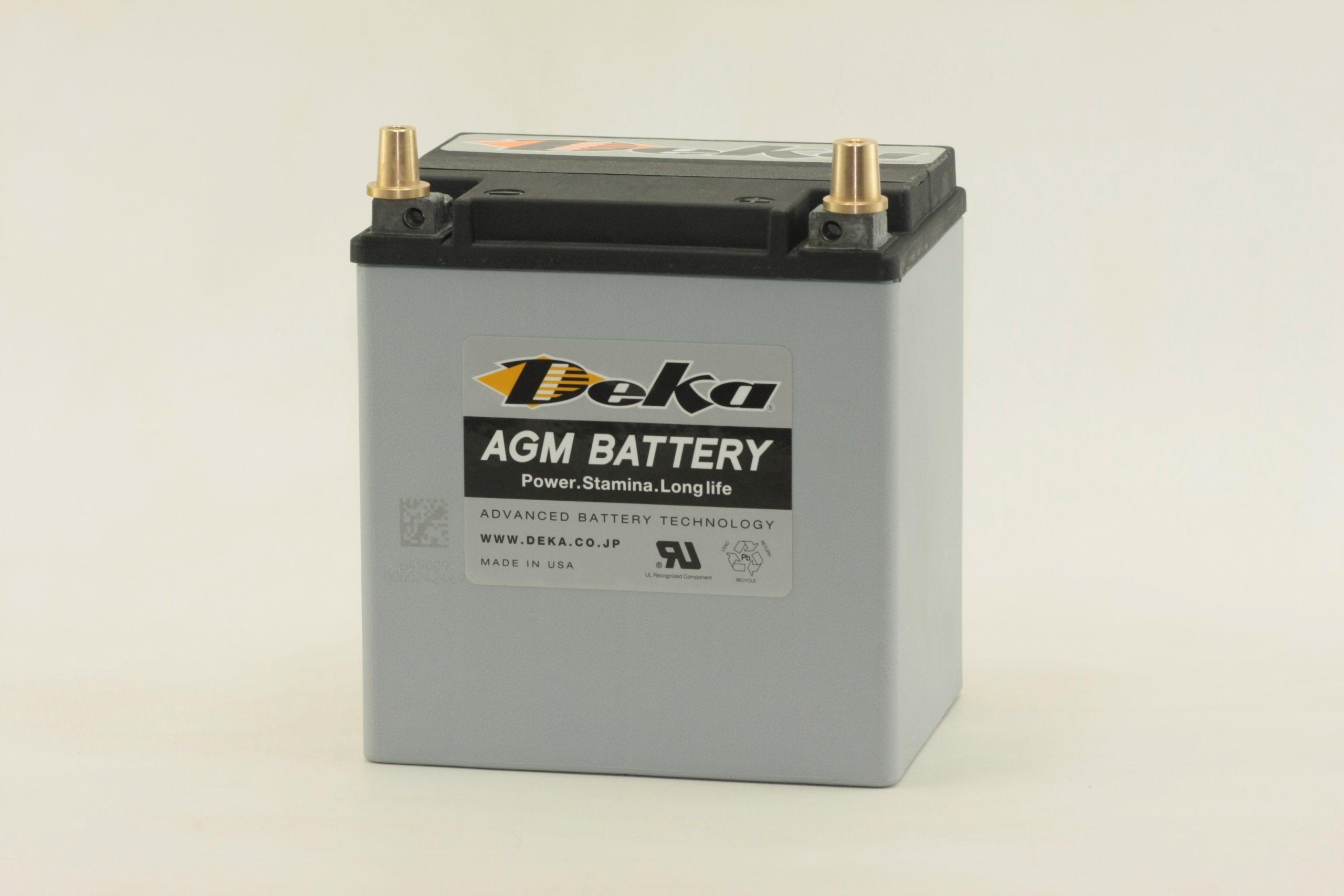 『Deka』のBNR34/R35向けの高性能AGMバッテリーETX-30Lとポルシェのスポーツ走行向け軽量バッテリー9A47