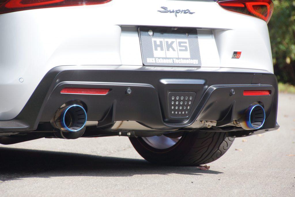 HKSよりスープラ SZ-R用のスーパーターボマフラーが新発売