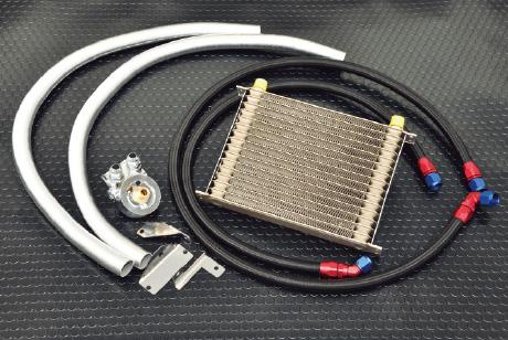 大容量コアを採用した VAB用オイルクーラー