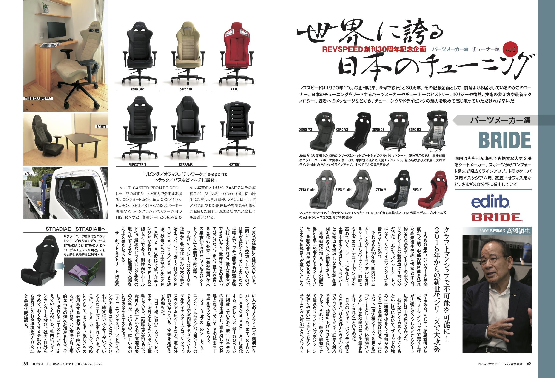【REVSPEED創刊30周年記念企画】世界に誇る日本のチューニング『BRIDE』編