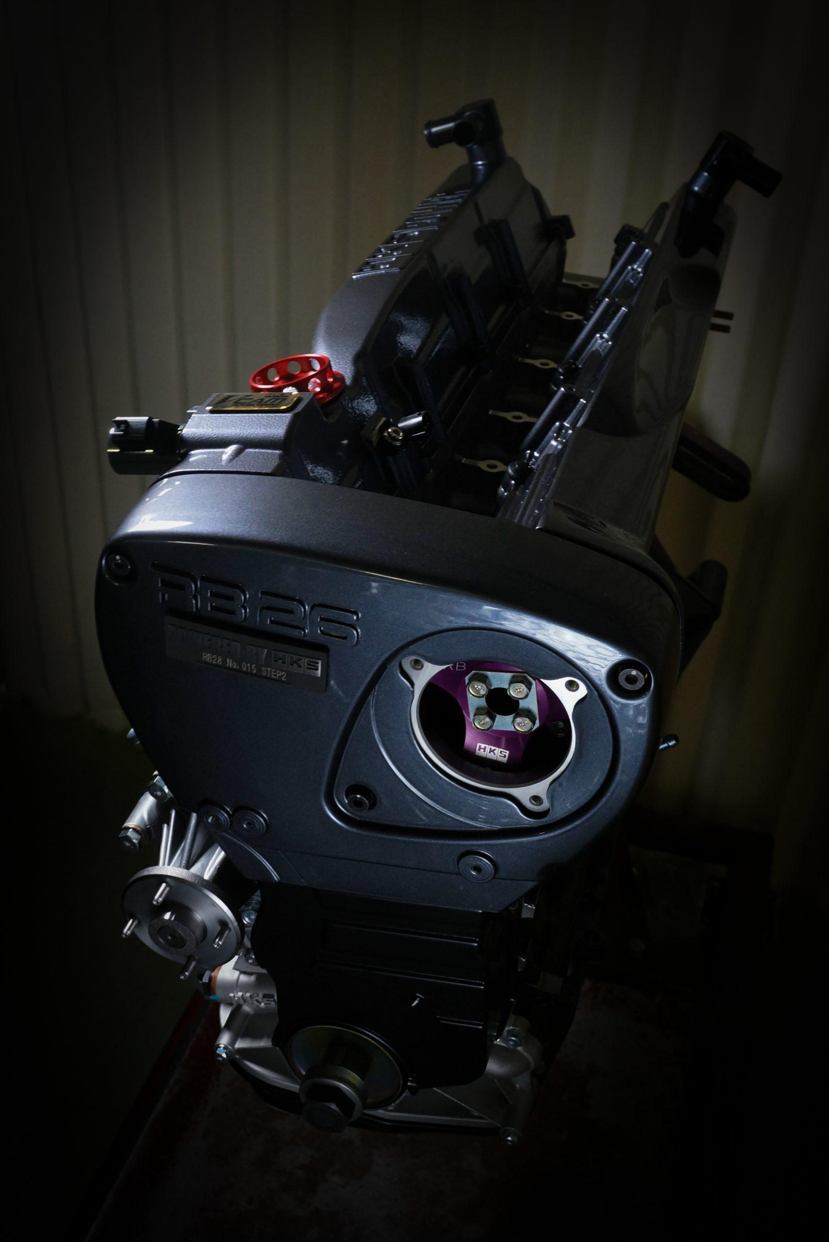 HKSの熟練メカニックが組み上げるBNR34/BCNR33/BNR32用の『コンプリートエンジンRB26  2.8L STEP2  V-CAM』