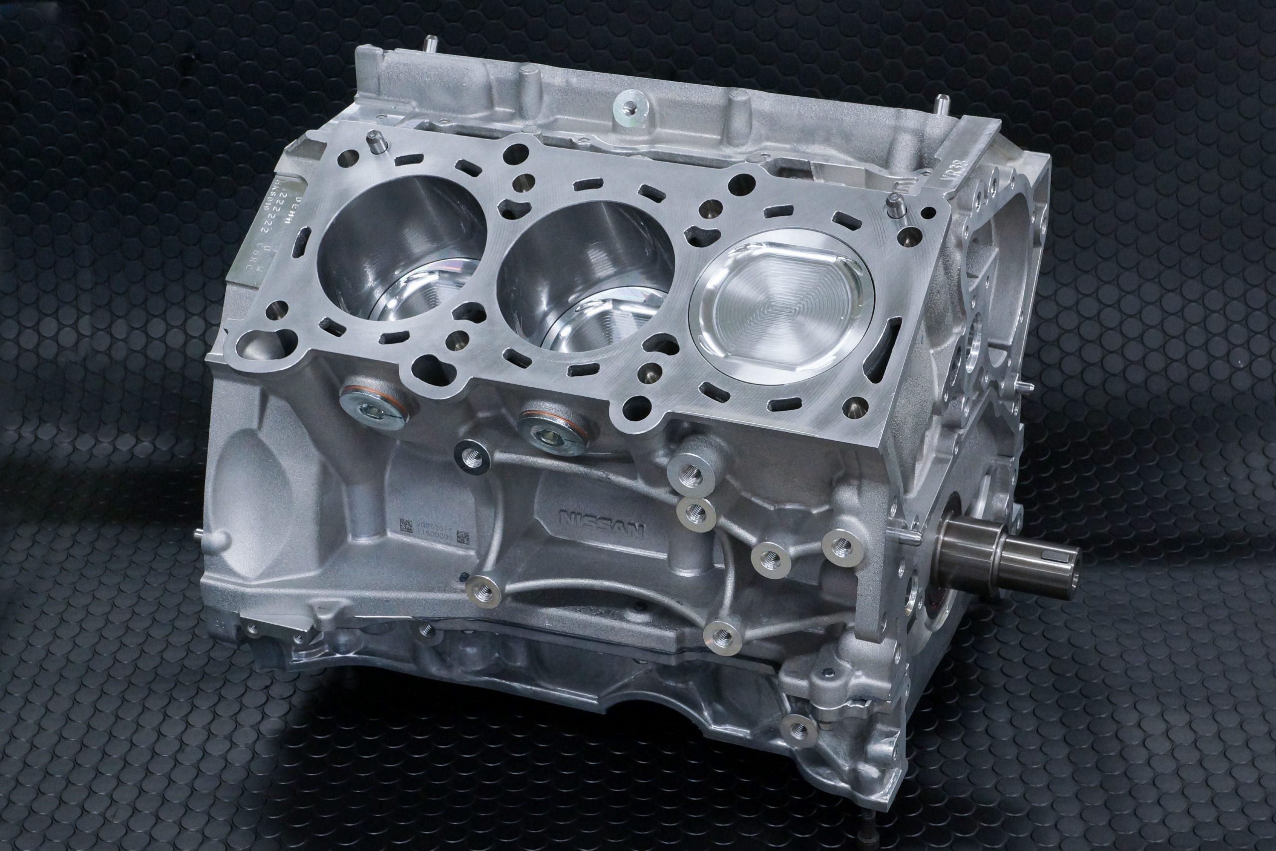HKSがVR38に 4.3ℓの排気量アップキットを組み込んだショートブロックをリリース