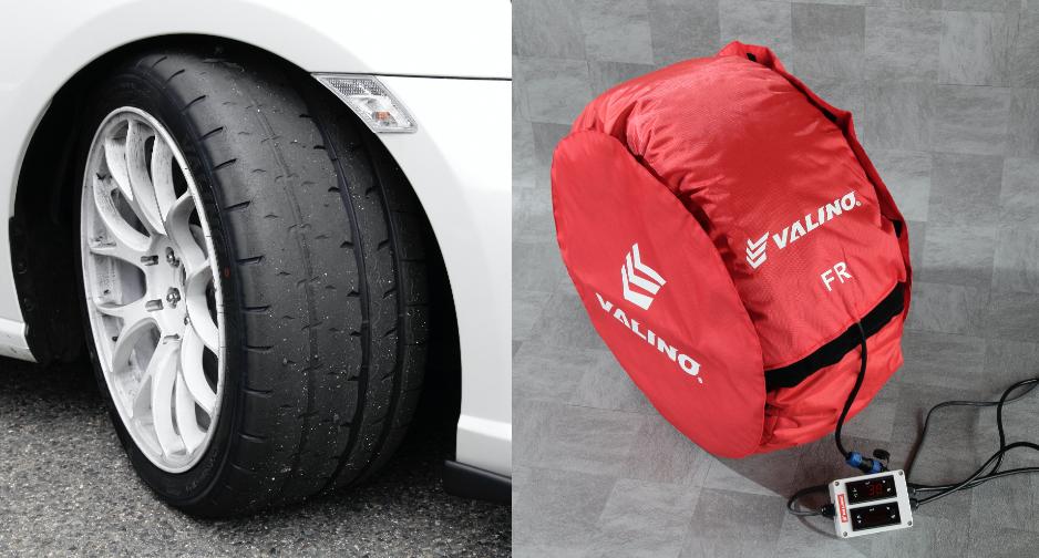 ヴァリノタイヤの話題のハイグリップタイヤVR08GPインプレと、リーズナブルなタイヤウォーマー発売情報