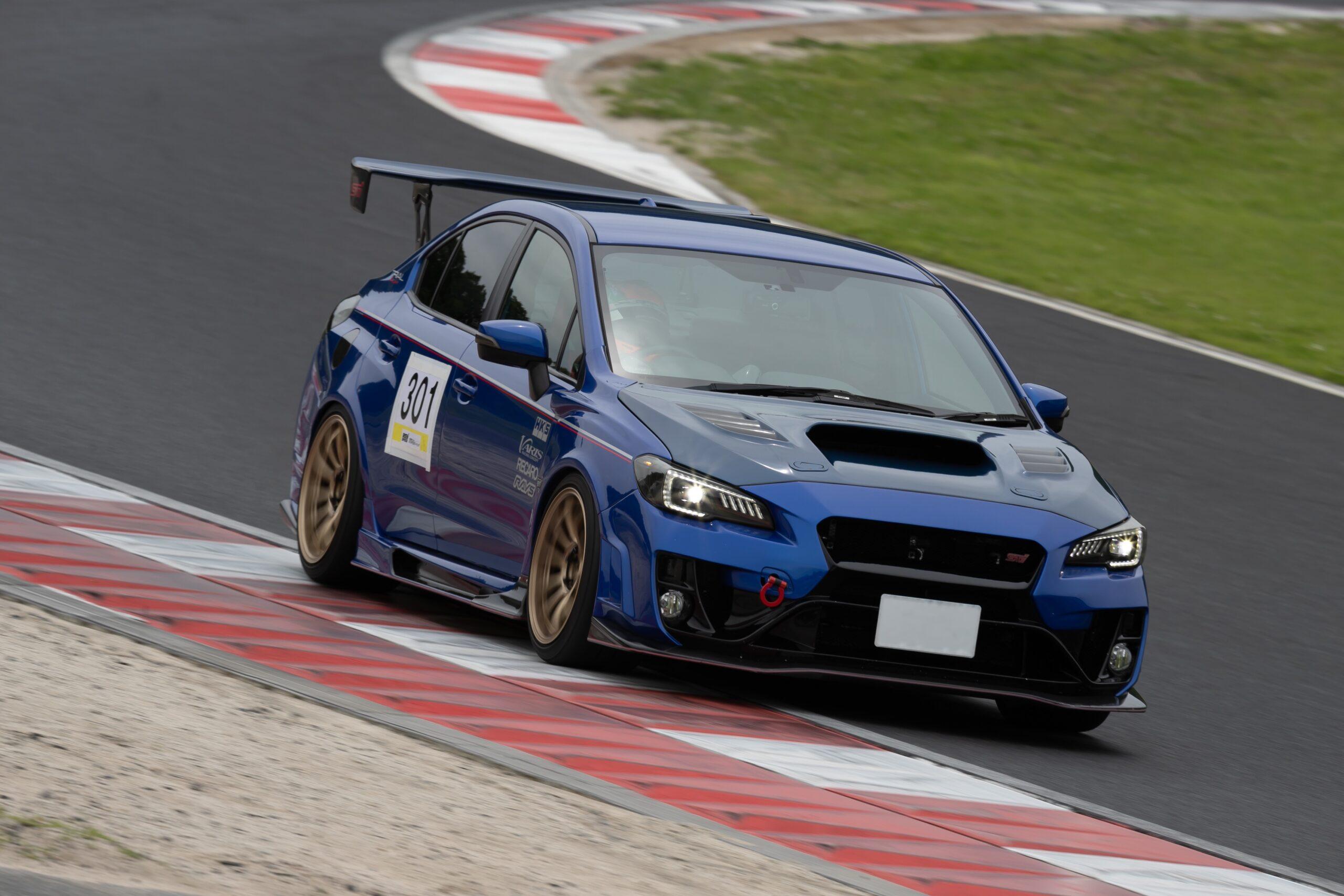 2.2ℓ×GTⅢ-RSでも周回を楽しめる!クーリング対策にも注目なトライアル VAB WRX STI