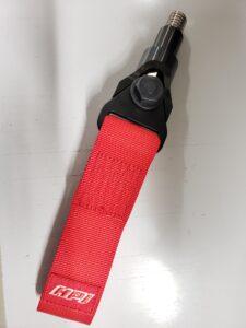 堅牢なつくり、かつベルトを真っすぐ引っ張れる!HPIの『GRヤリス用フロントトーイングベルトアダプター』 - 20210709_172221