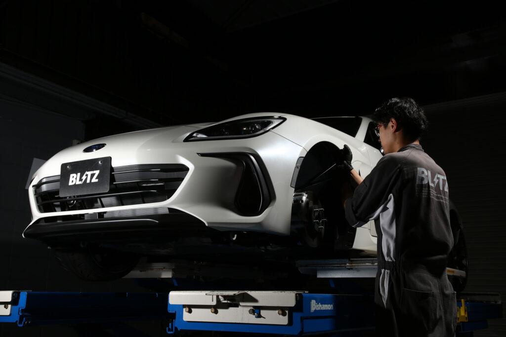 ブリッツがZD8 BRZ用の車高調サスキット『DAMPER ZZ-R』を新発売!